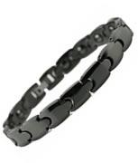Black Ceramic Magnetic Health Bracelet
