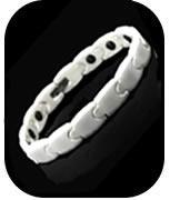 White Ceramic Magnetic Health Bracelet