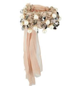 Chiffon Crystal Braided Bracelet