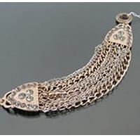 Copper Crystal Multi-Layer Bracelet
