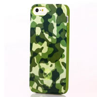 iPhone 5 Green Camouflage iPhone Case