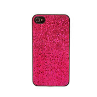 Glitter Hot Pink iPhone 4 4/S Phone Case