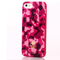 iPhone 5 Pink Camouflage iPhone Case