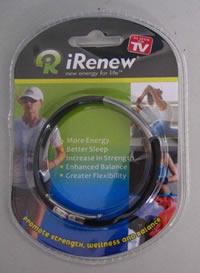 IRenew Energized Bracelet (Black)