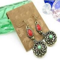 Lucky Brand Petal of Peace Earrings