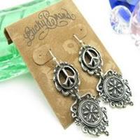 Lucky Brand Peace Flower Earrings